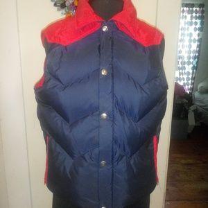 Vintage WOOLRICH Collared Vest